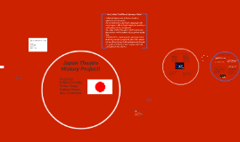 Japan Theatre History Project!