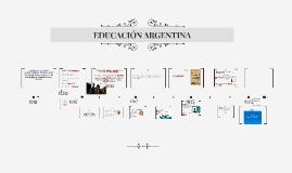 Copy of EDUCACIÓN ARGENTINA