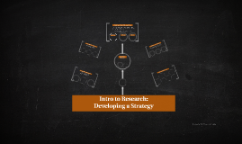 Intro to Research: Developing Your Strategy