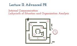 Advanced PR Lecture II.