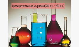 Época primitiva de la química