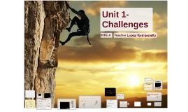 Copy of Challenges Unit 1