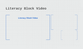 Literacy Block Video