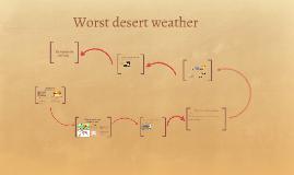 Worst desert weather