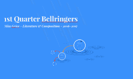 1st Quarter Bellringers