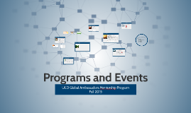 Programs and Events