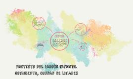 Proyecto del Jardin infantil cenicienta, ciudad de linares