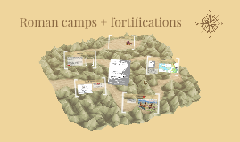 Roman camps + fortifications