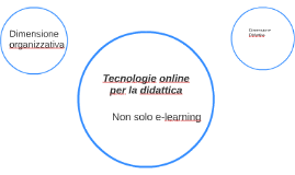 Tecnologie online per la didattica