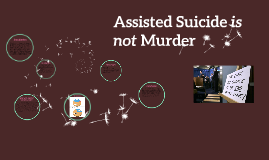 Assisted Suicide is not Murder