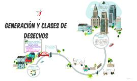 GENERACIÓN Y CLASES DE DESECHOS
