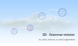 2D - Grammar revision - Liceo Luino