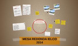 MESA REDONDA IELCO  2014