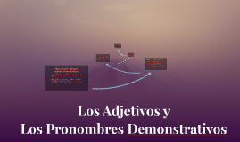 Copy of Los Adjetivos y