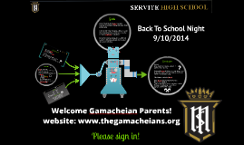 Welcome Gamacheian Parents