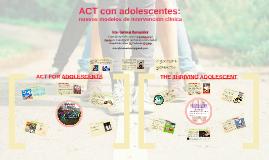 ACT con adolescentes