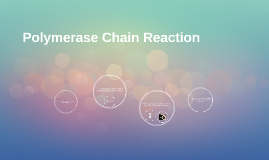 Copy of Polymerase Chain Reaction