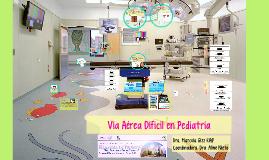 vía aérea díficil pediatría