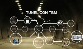 TUNEL CON TBM
