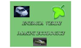 Masini ecologice