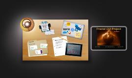 Fractal GUI Project