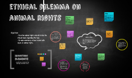 ethical dilemma on animal rights