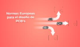 Normas Europeas para el diseño de PCB's