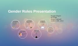 Gender Roles Presentation