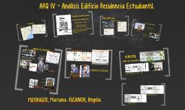 Copy of ARQ IV - Análisis Edificio Residencia Estudiantil.