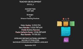 Copy of Teacher Development and Strategies to Enhance Teaching Pract