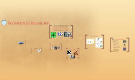 Geometry in Islamic Art