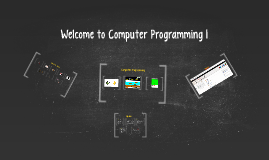 Copy of Computer Programming 1st Day