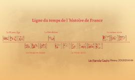 Ligne du temps de l´histoire de France