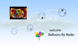 Balloons By Nader