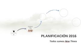 Copy of PLANIFICACIÓN 2016