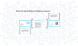 How do Blind people learn?