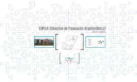Copy of COPLAA [Colectivo de Planeación Arquitectónica]