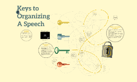 Keys to Organizing A Speech