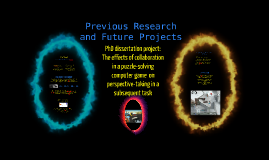Previous research and Future Projects