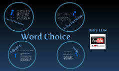 6-Traits Word Choice