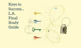 Keys to Success...