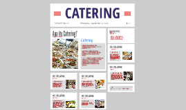 Copy of CATERING