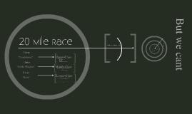 20 Mile Race