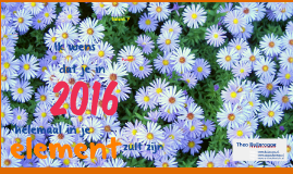 Nieuwjaarswens 2016