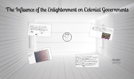 Copy of The Influence of the Enlightenment on Colonial Governments