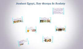 Ancient Egypt Key Groups In Society