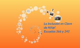 La Inclusión en Clave de Niñ@s!