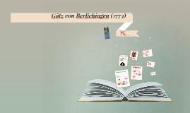 Götz von Berlichingen (1773)