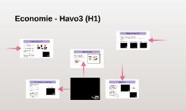 Economie - Havo3 (H1)