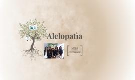 Alelopatìa